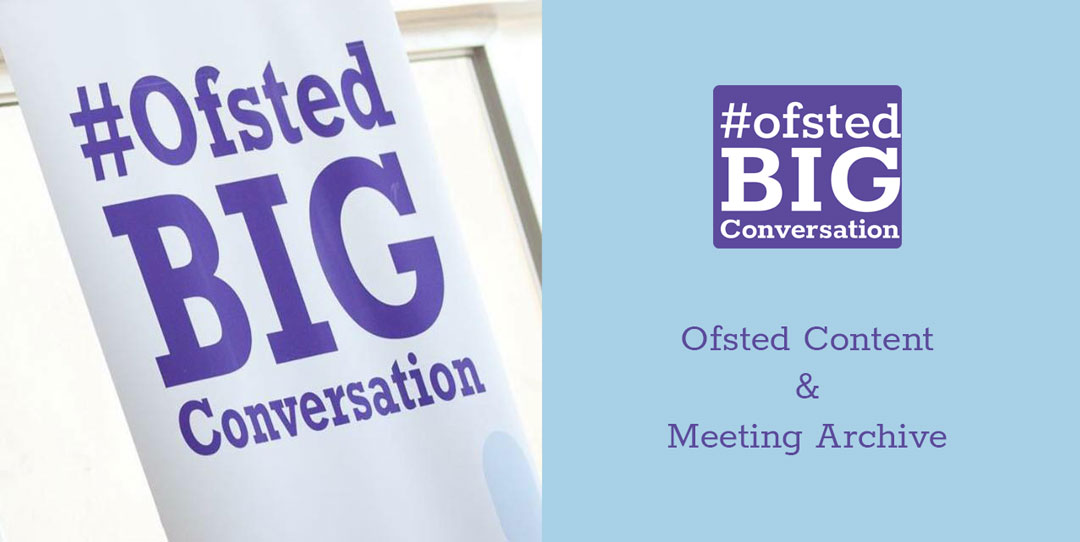 NWOBC Ofsted Content and Meeting Archive